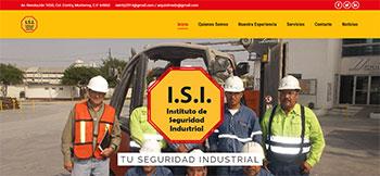 Sitio web en WordPress para el Instituto de Seguridad Industrial, una empresa especializada en prevención de riesgos laborales con presencia en México y España