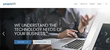 Sitio web en WordPress + Elementor Pro para smartATX una empresa de Soporte Técnico y Help Desk para negocios con base en Austin, TX