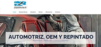 Sitio web en HTML para Thunderbolt una empresa de cuartos limpios y ambientes controlados con base en Aguascalientes, Ags.